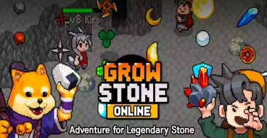 Grow Stone Online cover 375x195