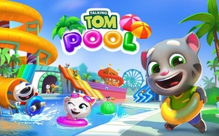 talking tom pool 312x195