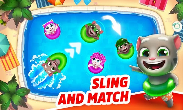 talking tom pool mod