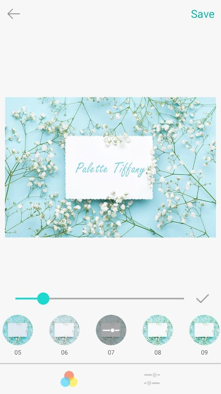 Palette Tiffany android