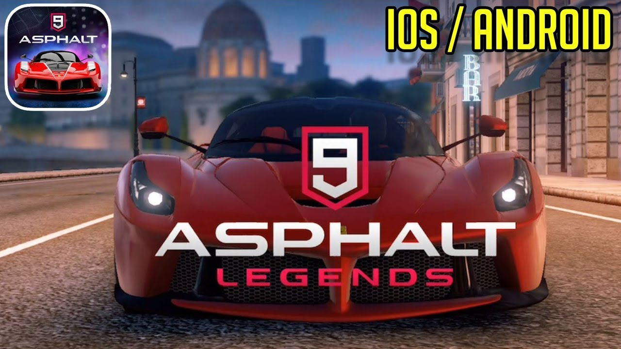 asphalt 9 legends 1