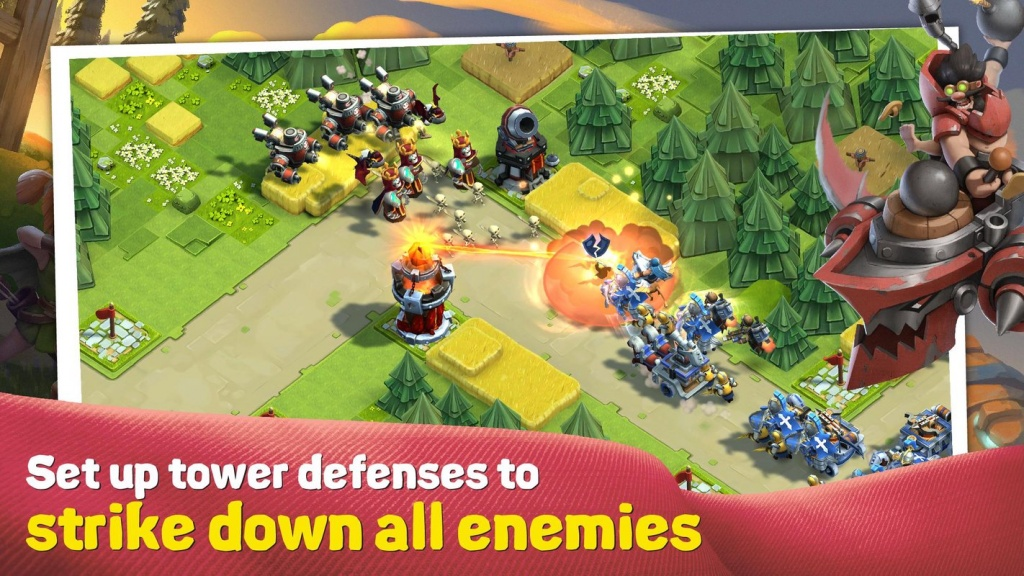 caravan war heroes and tower defense 1