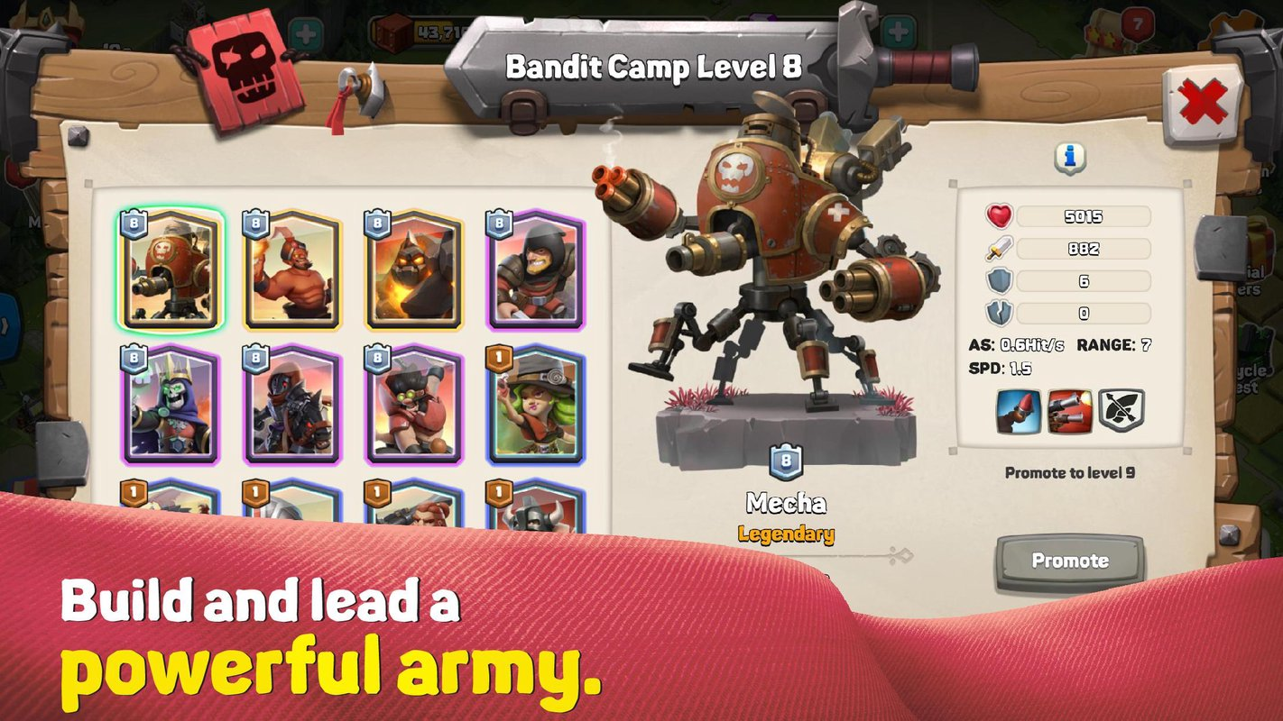 caravan war heroes and tower defense 2
