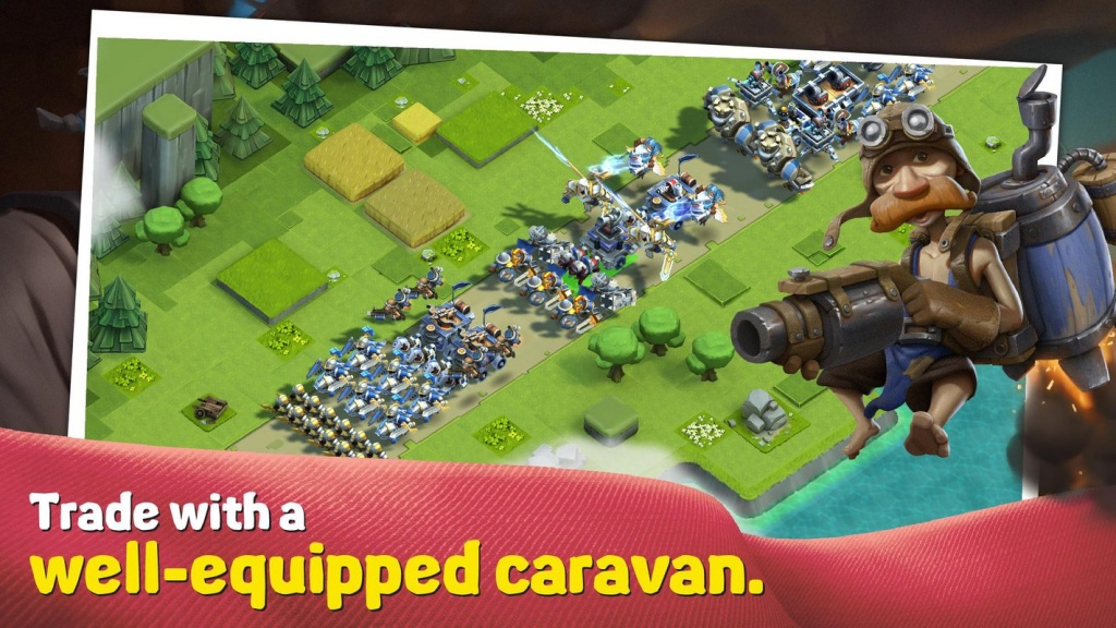 caravan war heroes and tower defense 4