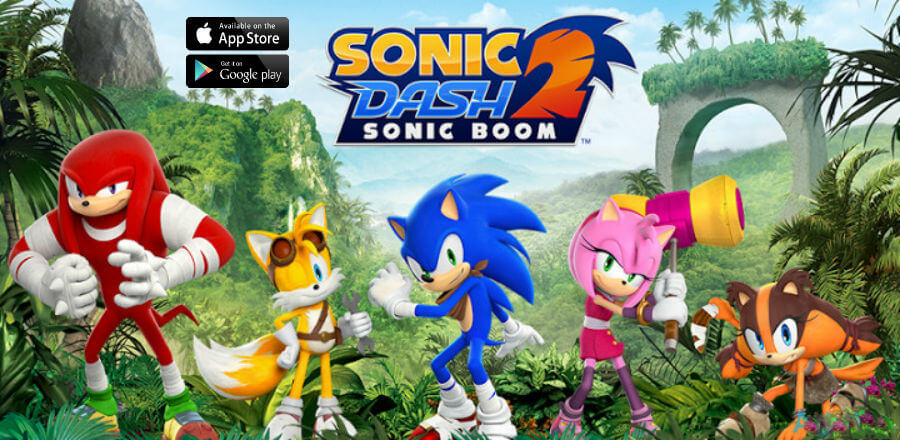 cover sonic dash 2 sonic boom