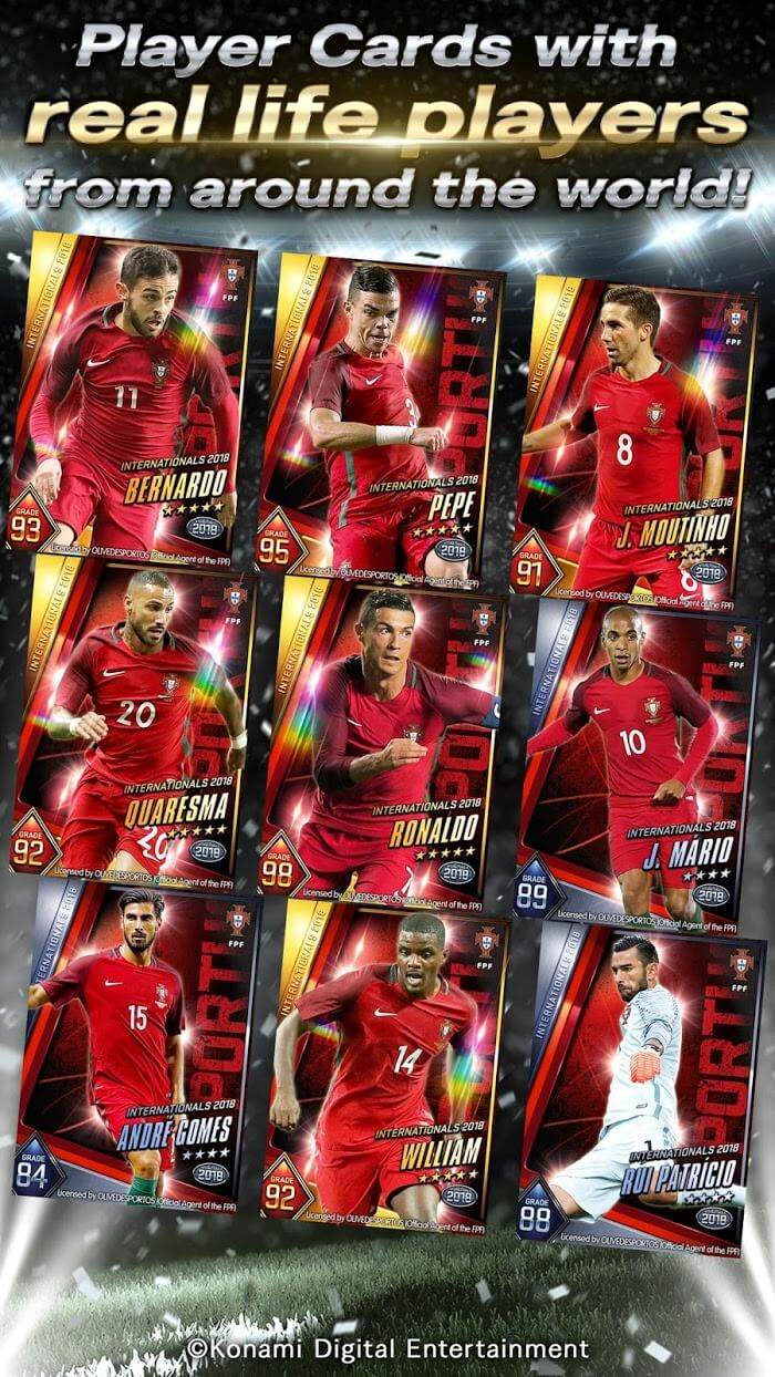 download pes card collection for android