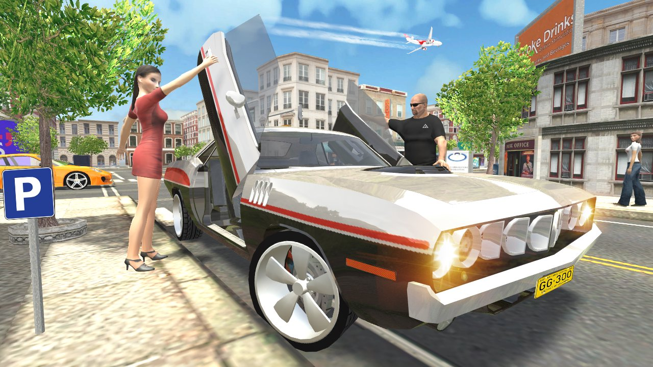 Download Muscle Car Simulator APK v1.12 Mod Money for Android/iOS