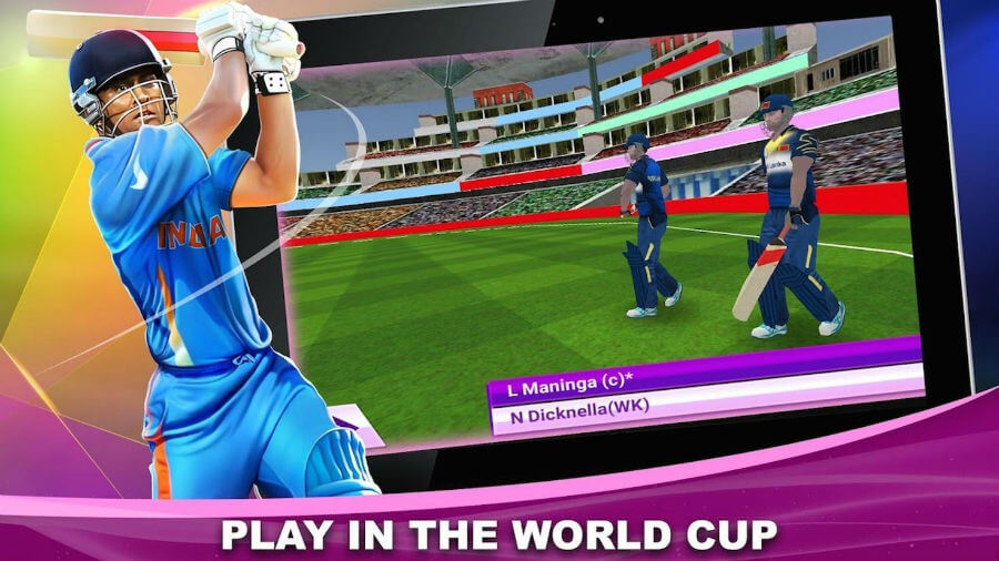 Download Real World Cricket 18 APK Mod Unlimited Money for