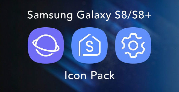 samsung galaxy s9 icon pack