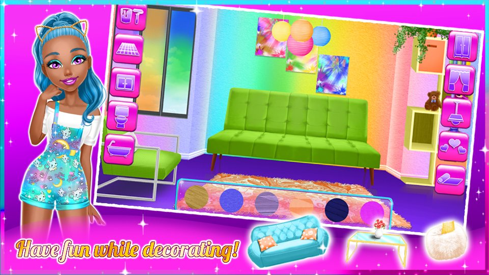 dream doll house decorating game 2