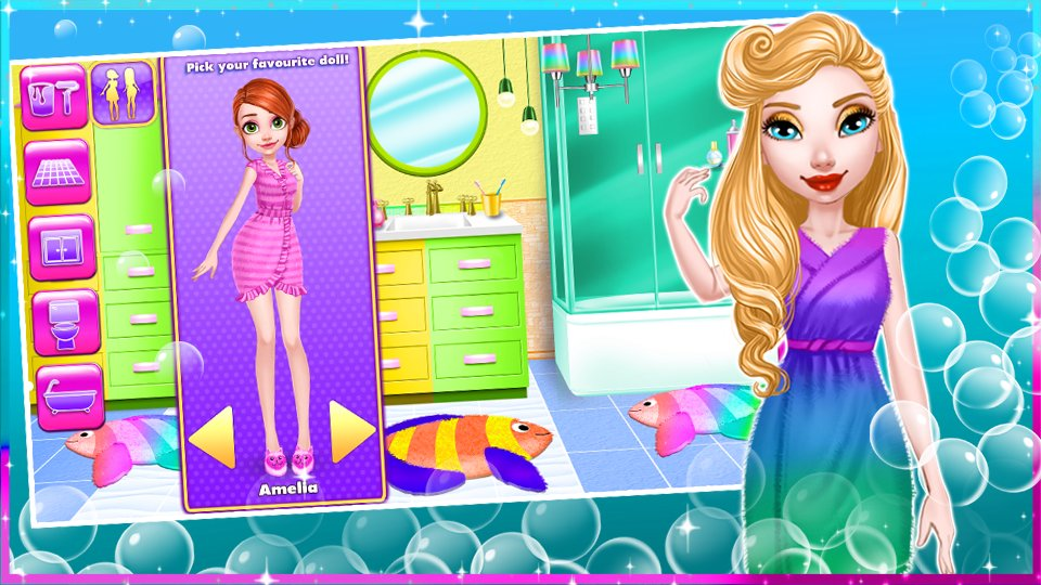 dream doll house decorating game 3