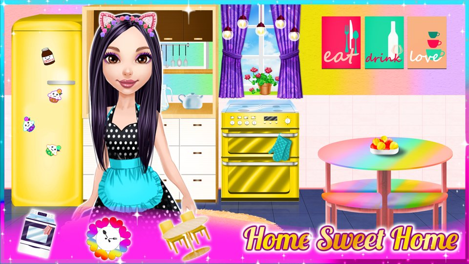 dream doll house decorating game 4