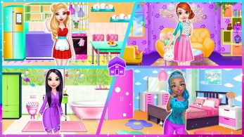 dream doll house decorating game 5 347x195