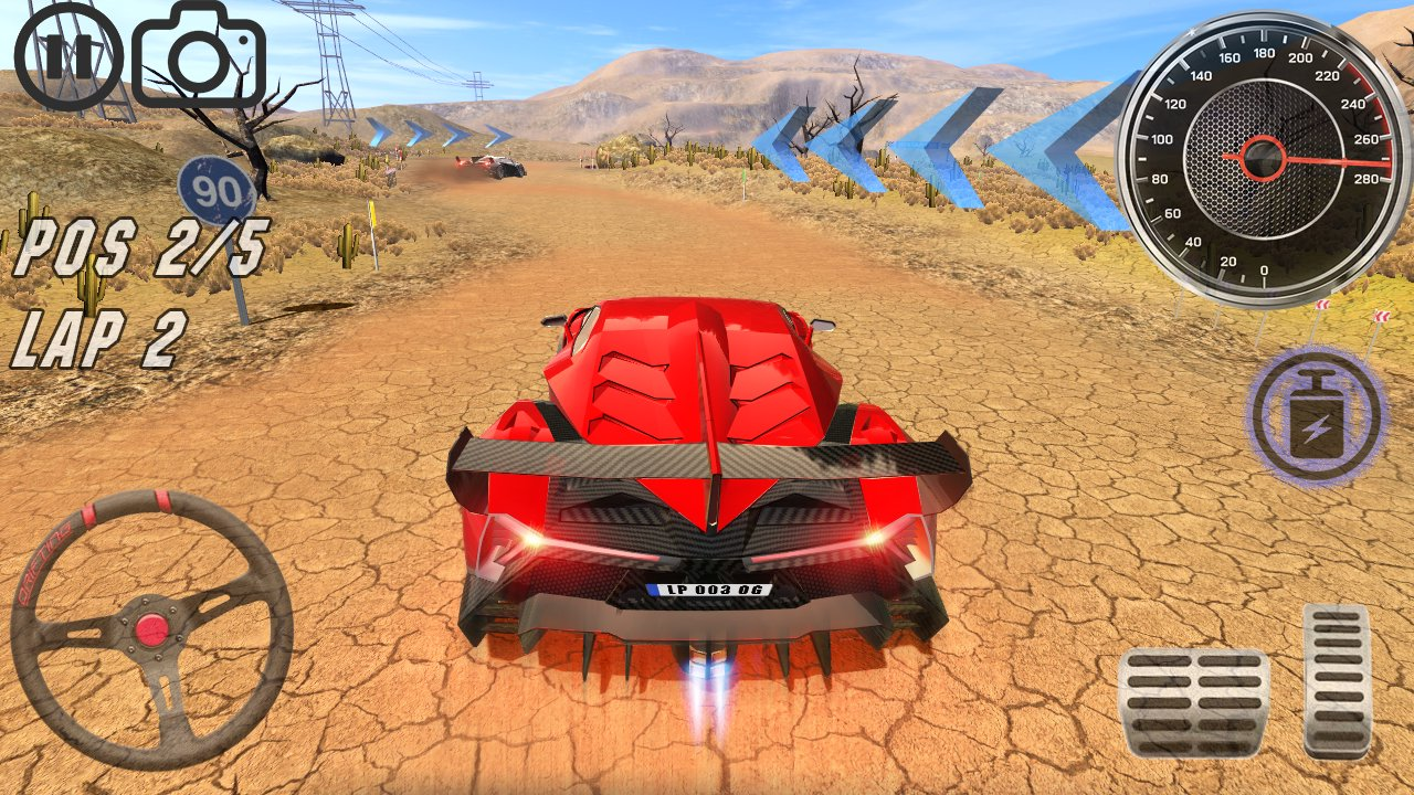 extreme lambo car simulator 4
