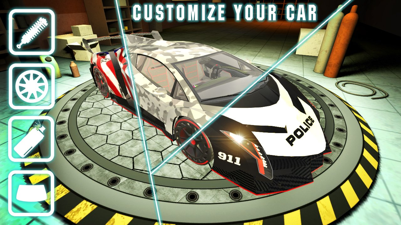extreme lambo car simulator 5