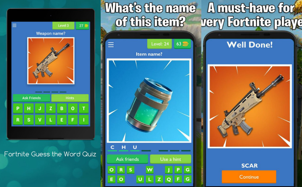 Guess The Picture Quiz For Fortnite Apk Download For Android Ios