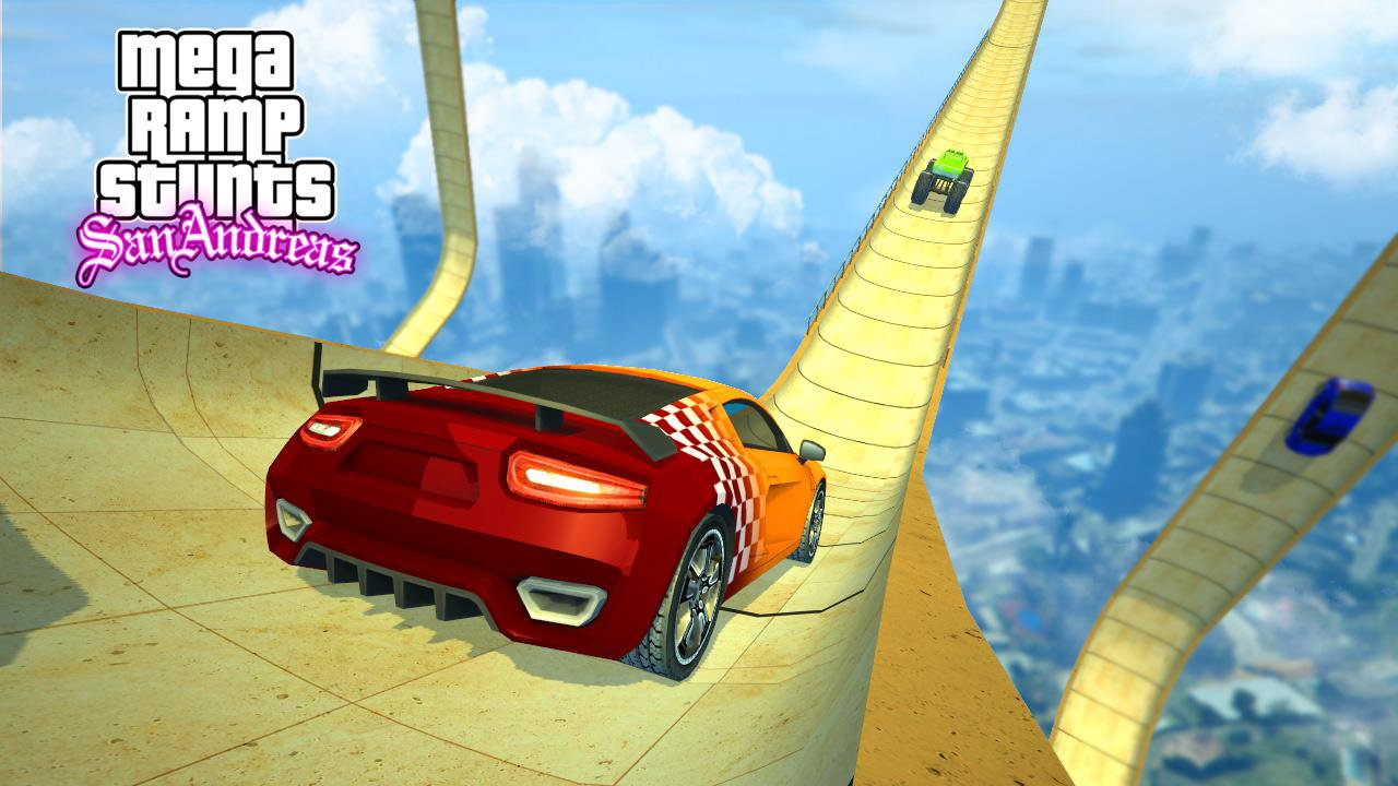 mega ramp san andreas stunts 2