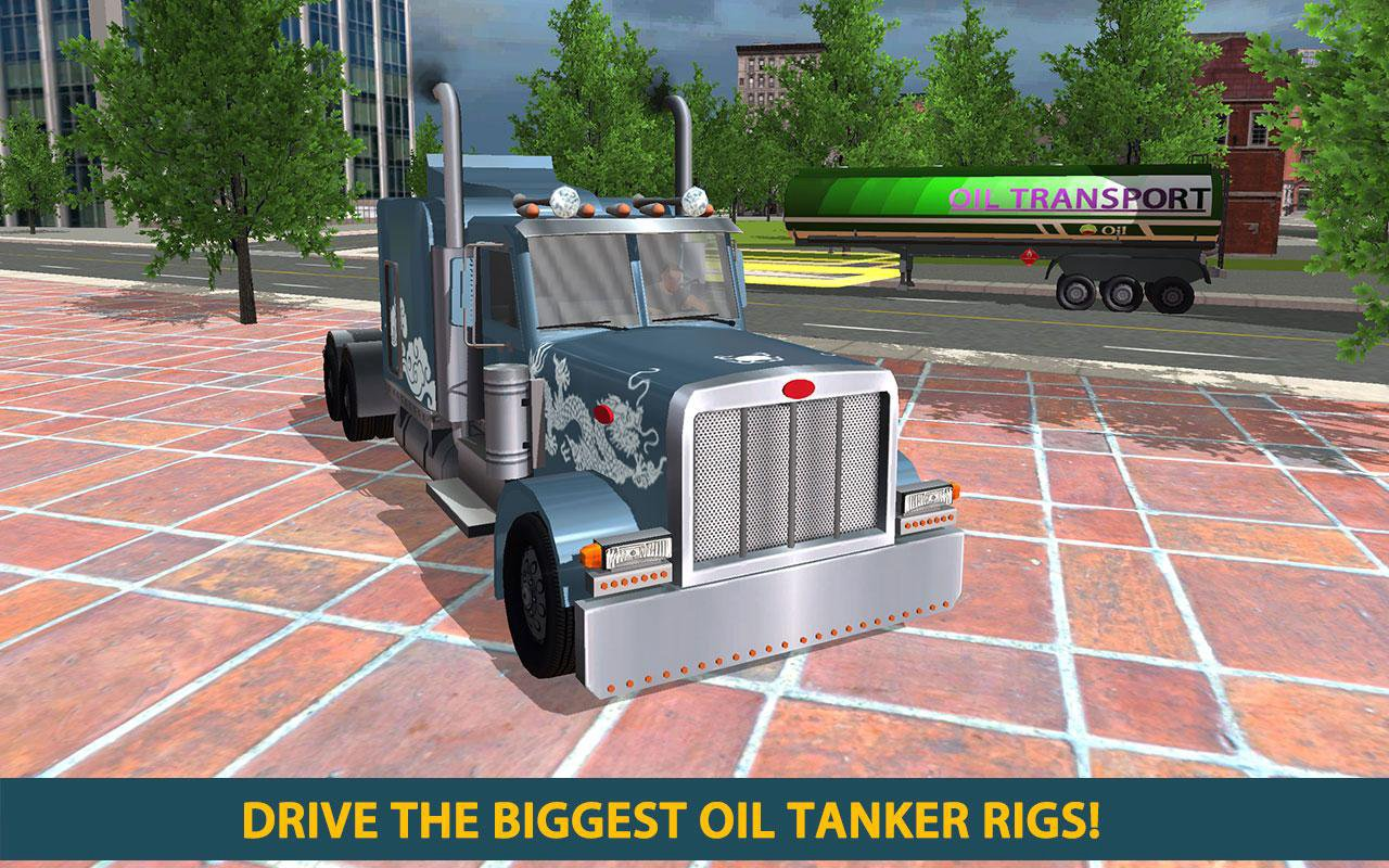 oil tanker transport driver sim 2