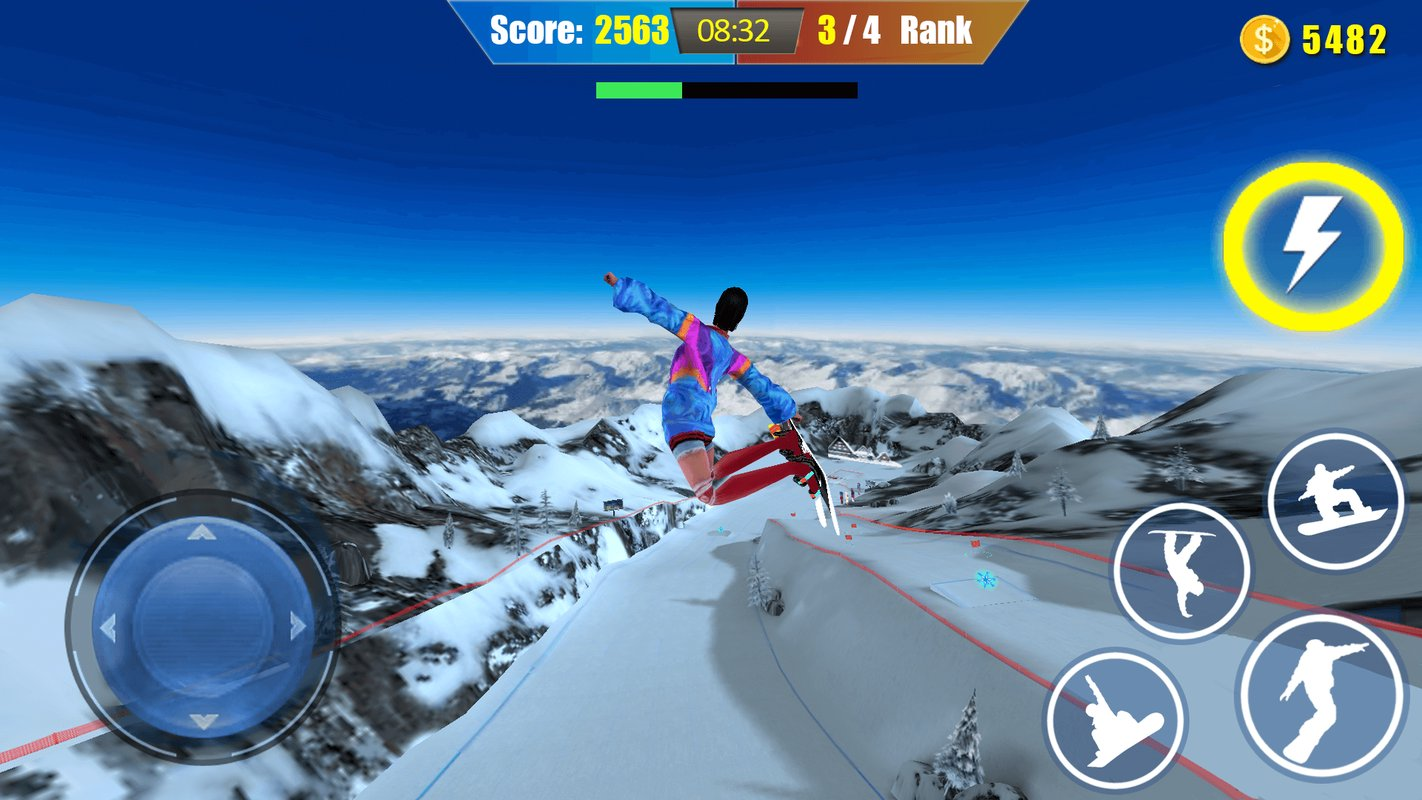 snowboard freestyle skiing 2