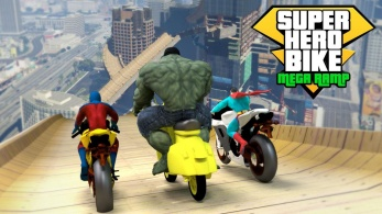 super hero bike mega ramp 1 347x195