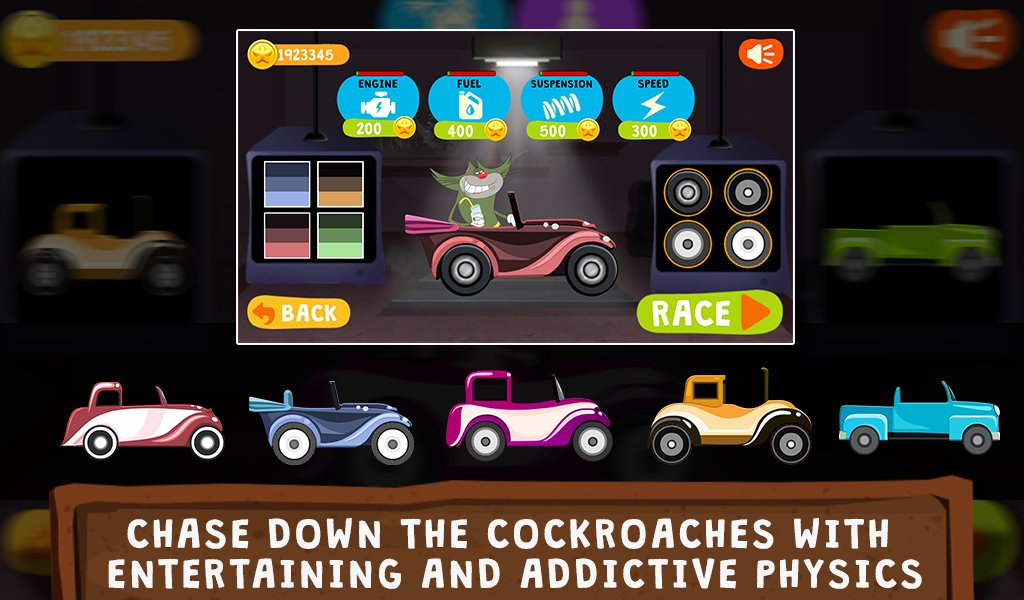 oggy go world of racing the official game 3
