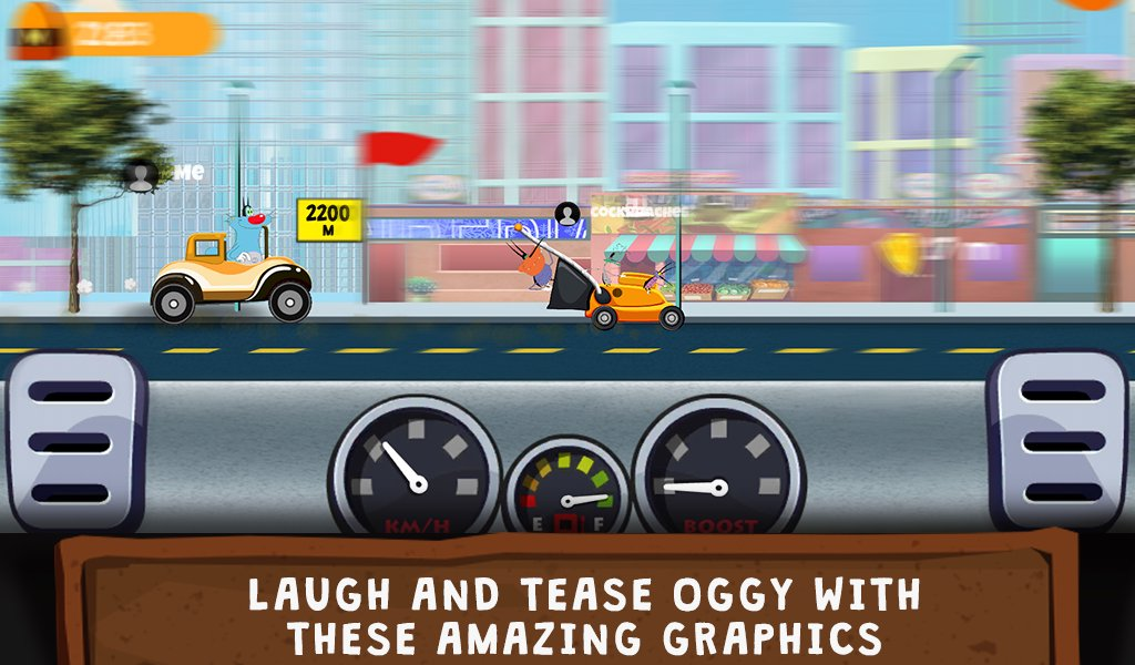 oggy go world of racing the official game 4
