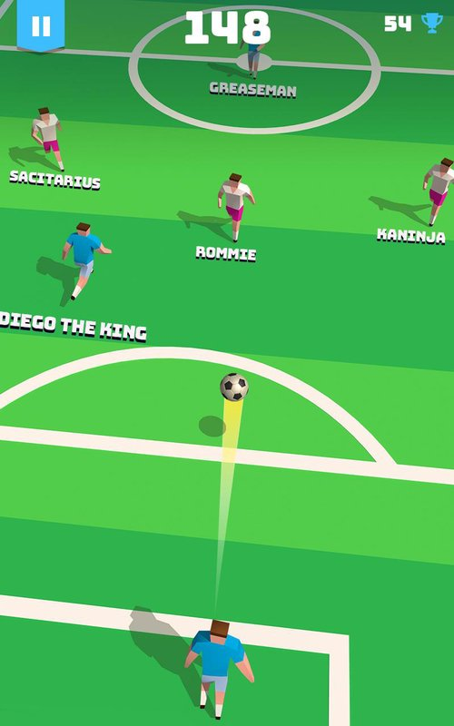 occer hero endless football run 2