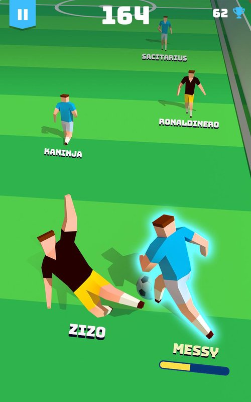 occer hero endless football run 4