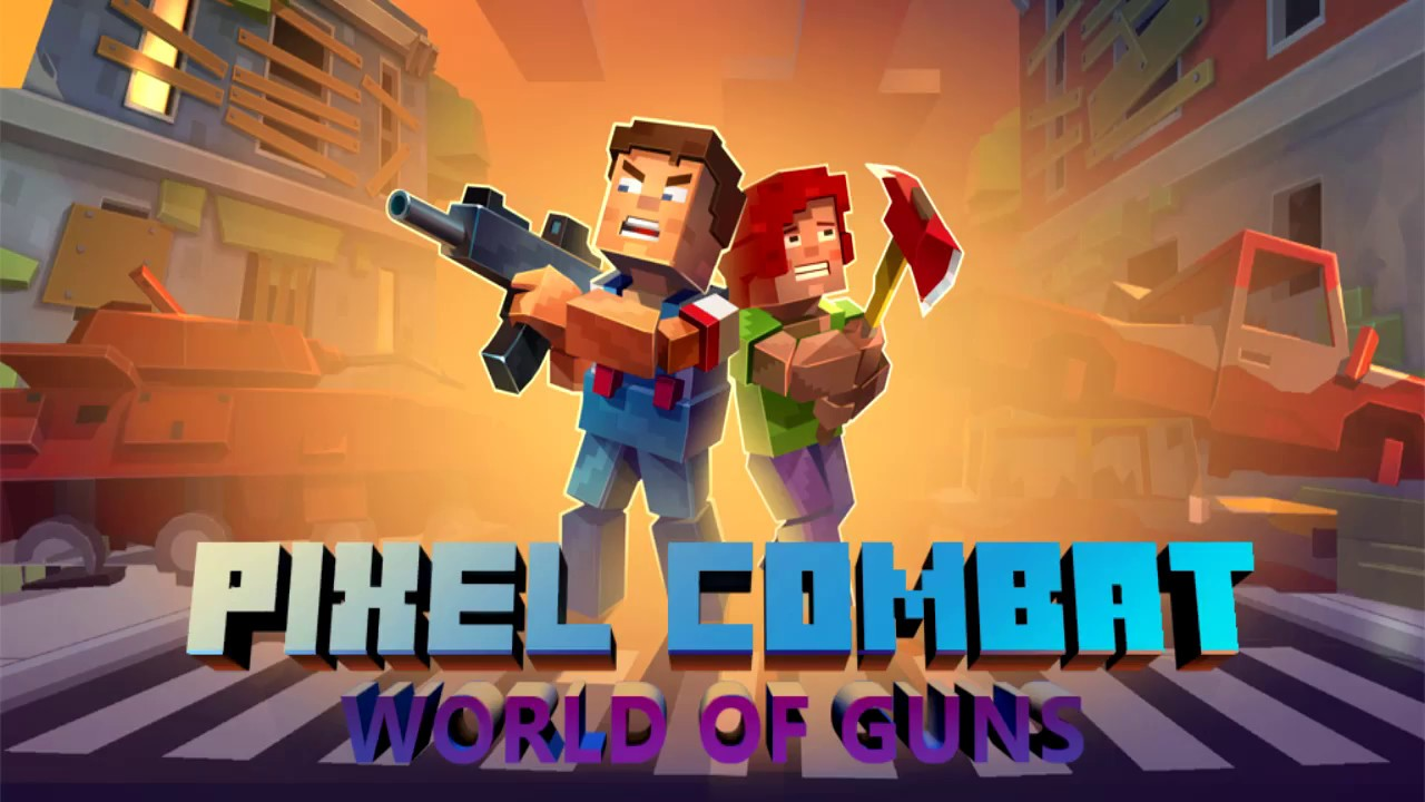 pixel combat world of guns