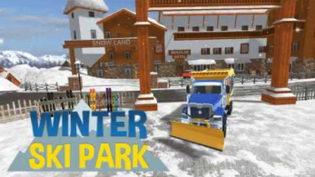 Winter Ski Park Snow Driver 347x195