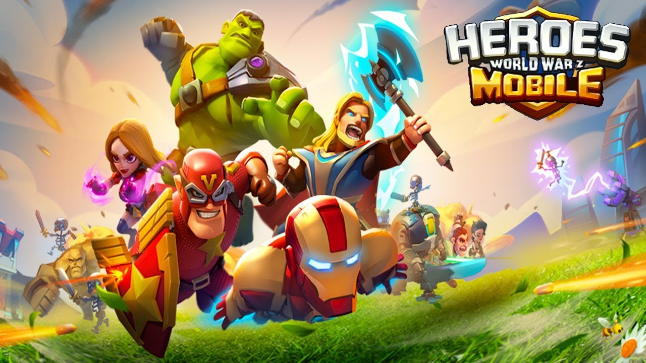 heroes mobile world war z