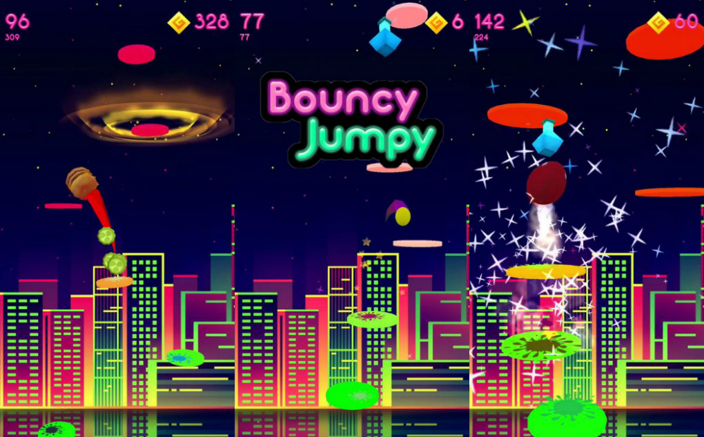 bouncy jumpy
